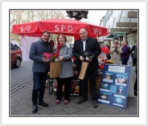 ASF Stand Weltfrauentag SPD