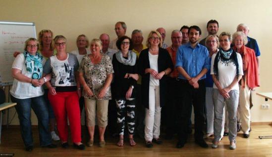 Fraktionstagung SPD stehen