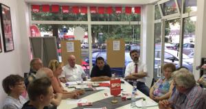 SPD Jülich Vorstandssitzung