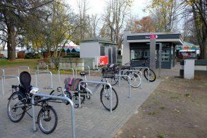 Fahrradparkplatz Jülich SPD