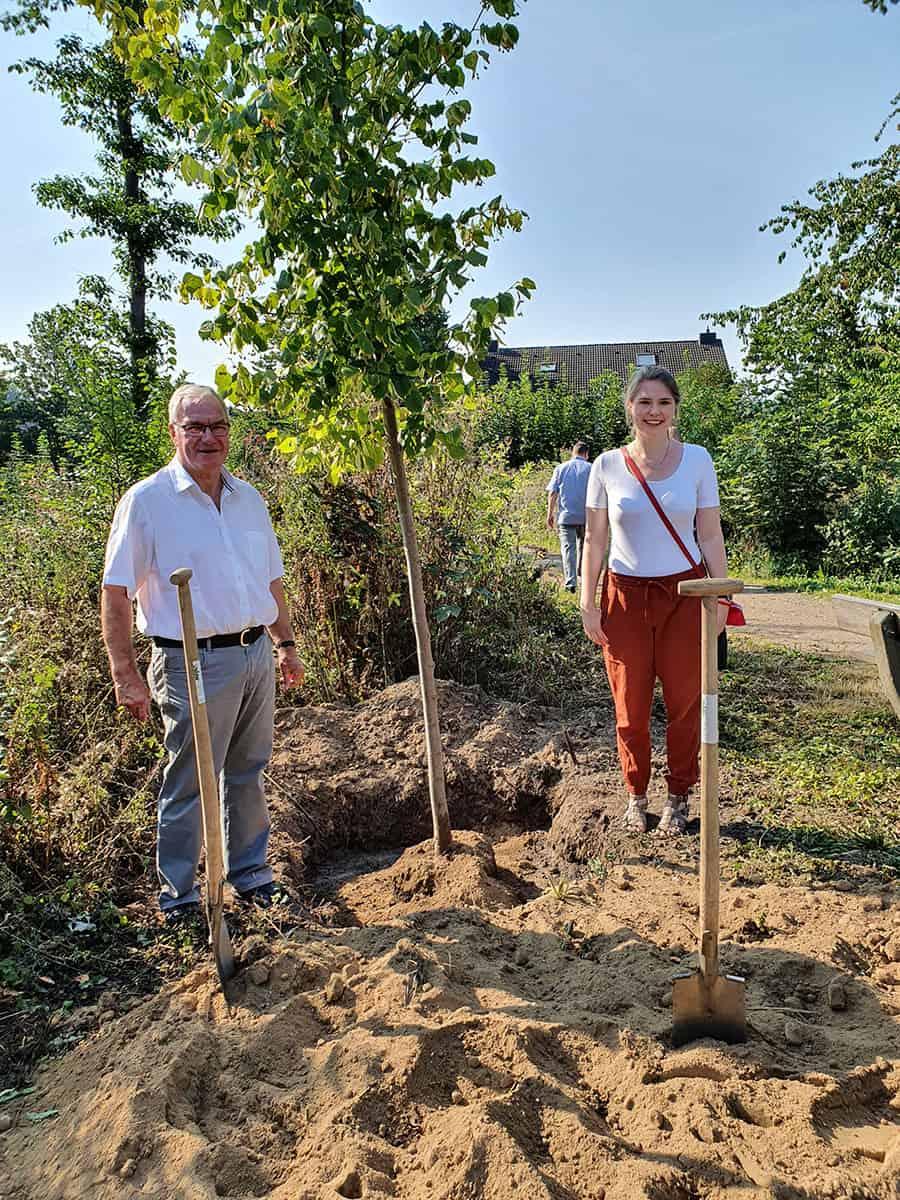 Baum pflanzen für den Klimaschutz